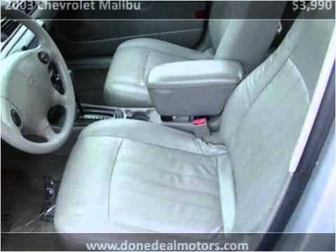 2003 chevrolet malibu used cars canton ma youtube for Done deal motors canton ma