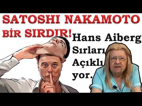 Satoshi Nakamoto bir sırdır!. Hans Aiberg Sırları Açıklıyor!
