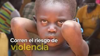 1 millón de niños han huido de Sudán del Sur