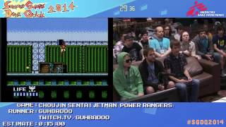 Summer Games Done Quick 2014 - Part 20 - Choujin Sentai Jetman