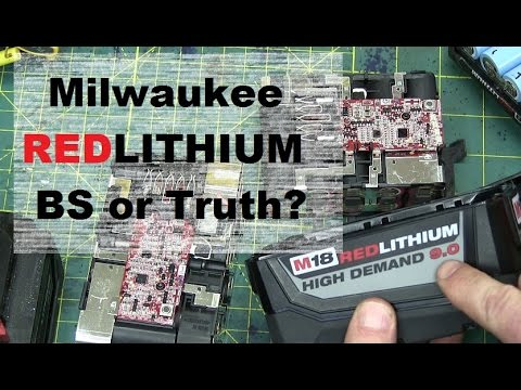 BOLTR: Milwaukee High Demand 9.0 Red Lithium. FREEZE TEST and REPAIR!