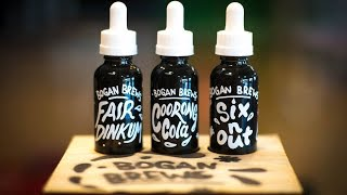 """Bogan Brews"" The Vaping Bogan E-Juice Line Now Available"