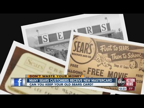 Don't Waste Your Money: Sears customers receive new Mastercard