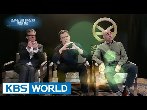 """Top actors of movie """"KINGSMAN : The Golden Circle"""" [Entertainment Weekly / 2017.09.25]"""