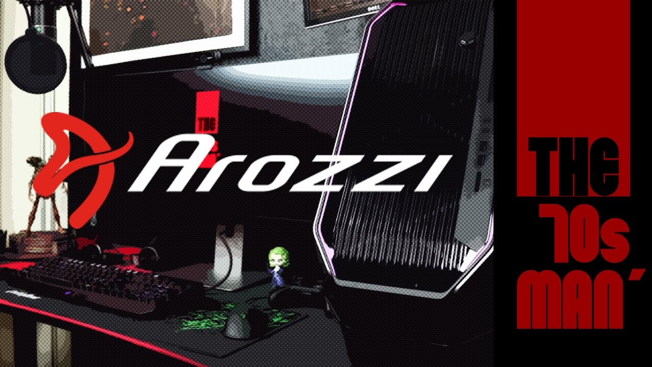 Arozzi Arena Gaming Desk Unboxing Review By The70sman