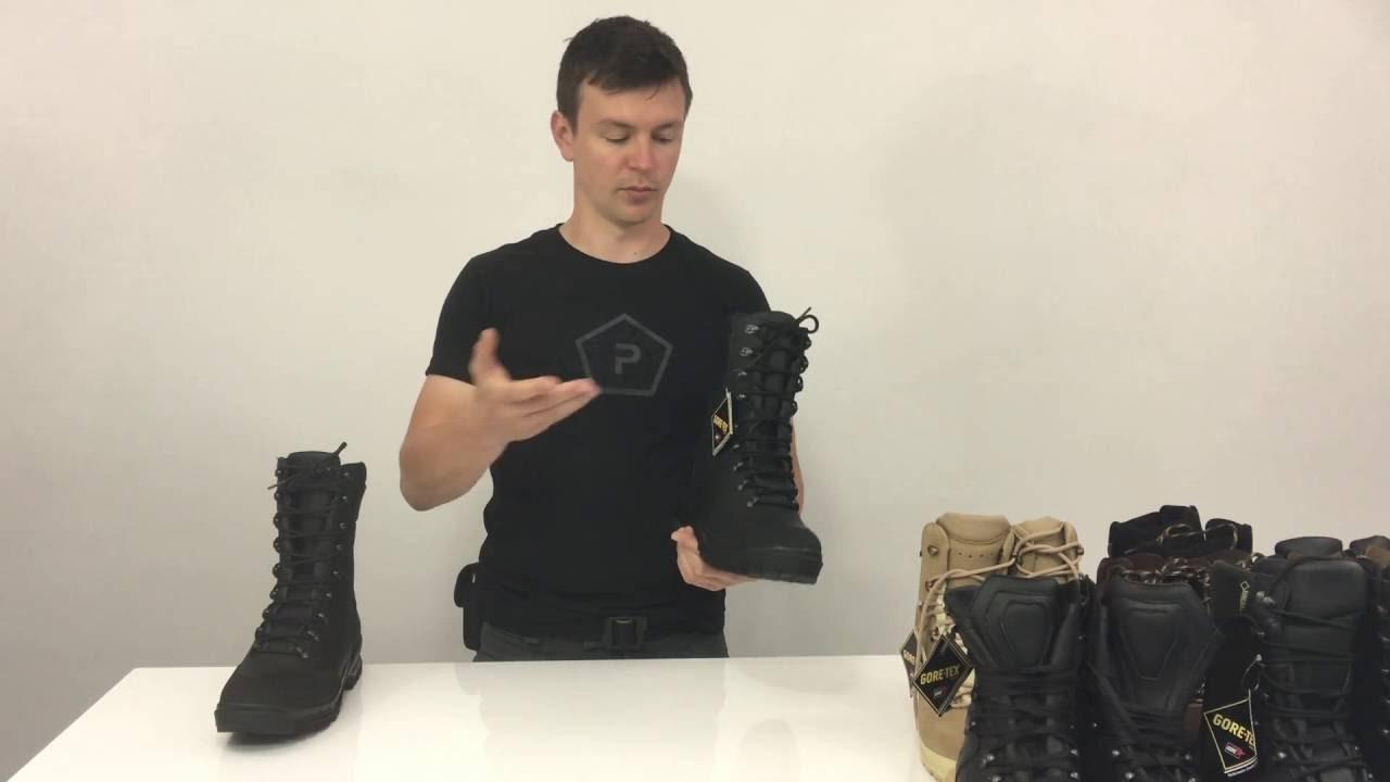 e8e0a01a6 Vojenské topánky SQUAD FG Gore-Tex od BOSP (SK) 4K - YouTube