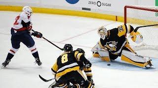 Capitals' Kuznetsov scores in OT to eliminate Penguins