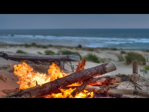 "Peaceful Music, Relaxing Music, Nature Sounds, ""Campfire Beach"" by Tim Janis"