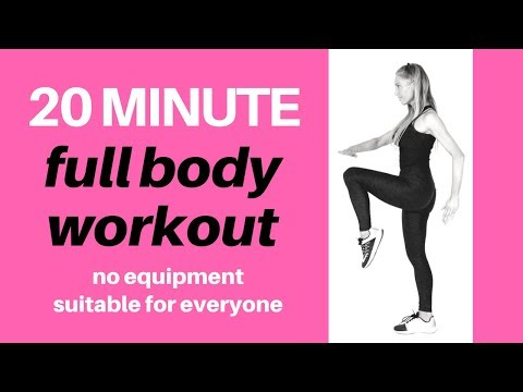 FULL BODY HOME WORKOUT FOR WEIGHT LOSS - CARDIO WORKOUT SUITABLE FOR BEGINNERS TO INTERMEDIATE