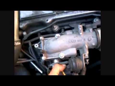 Valvola Egr Saab 93 2 2 Pulizia Youtube