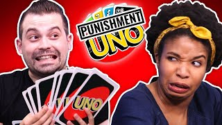 We Play Giant Uno (but with punishments)