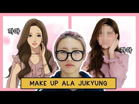 🧚 TUTORIAL MAKE UP JUKYUNG - THE SECRET OF ANGEL ( WEBTOON ) 🧚