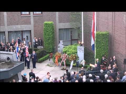 Dodenherdenking Kerkrade Netherlands 2015