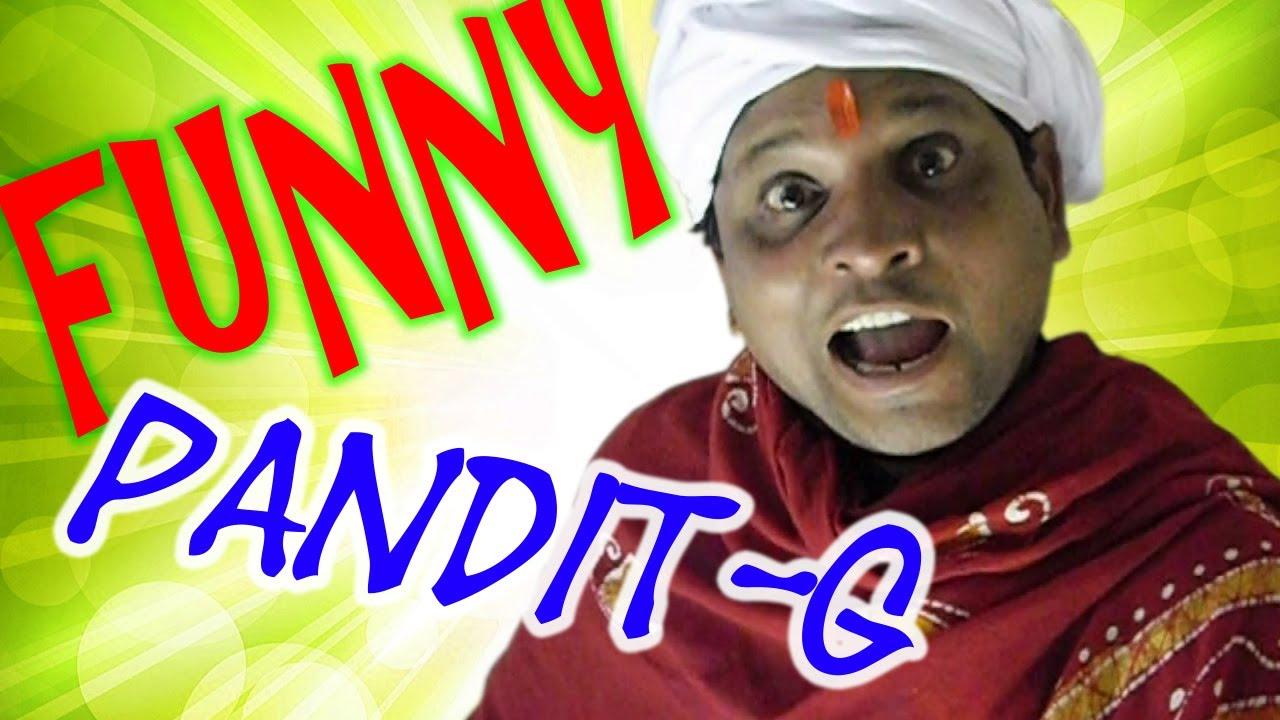 Funny Pandit G | Jyotish Joke | Hindi Comedy Video | Pakau ...