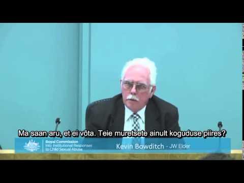 Jehoova tunnistajate kogudusevanemad kohtus - laste seksuaalse kuritarvitamise juhtumid Austraalias
