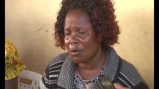 Phostine Nekesa painfully recalls the murder of a gruduate in Bungoma