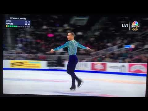 2018 U.S. Men's Figure Skating ADAM RIPPON - AMAZING