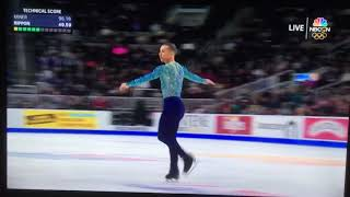 2018 U.S. Men's Figure Skating ADAM RIPPON - AMAZING