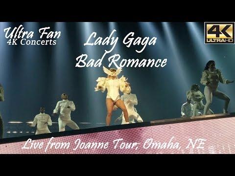 Lady Gaga - Bad Romance Live from Joanne Tour Omaha, NE