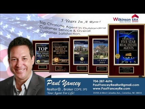 Charlotte & Lake Norman NC best Real Estate Agent (Realtor) 5 Star Agent Award Winner 5 Years.