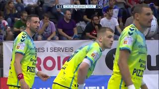 Artsem Karalek EHF Cup  Saint-Raphael - Granollers
