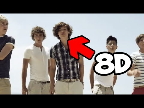 One Direction - What Makes You Beautiful (8D AUDIO)