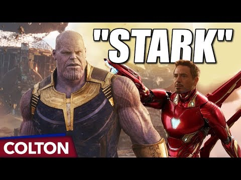 How does Thanos know StarK?