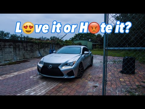 5 Things I Love/Hate about my Lexus RCF