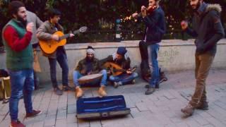 İstanbul Sokak Sanatçıları Hali Hali Hal  Meli Meli Mel