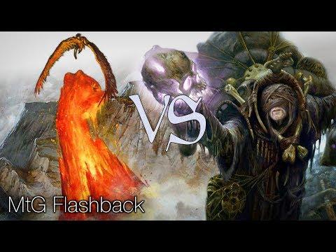 MtG Modern Flashback Episode 32 - Seismic Swans VS Waste Not Storm