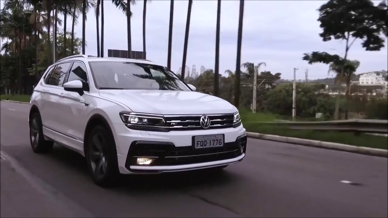 novo vw tiguan allspace 2018 pre os e detalhes oficiais. Black Bedroom Furniture Sets. Home Design Ideas