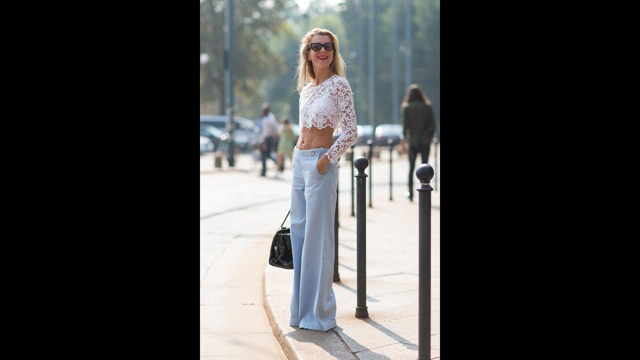 брюки трубы фото женские