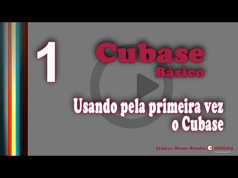 1/15 - Cubase Básico - Usando pela primeira vez o Cubase