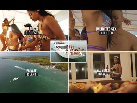 Vacation sex sexy island private