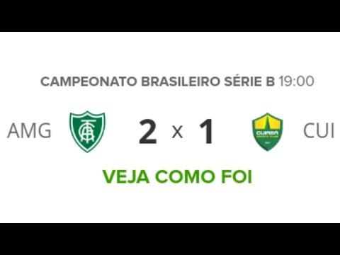 América-MG 2 x 1 Cuiabá - Melhores Momentos (HD) - Brasileirão Série B 17/08/2019