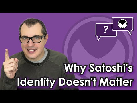 Bitcoin Q&A: Why Satoshi's Identity Doesn't Matter