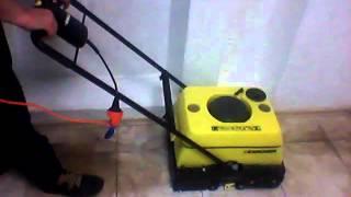 Чищення Плитки Підлогомиючої Машиною Karcher BR 400