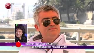 El llanto de Mauricio Flores tras recordar a Gigi Martin - VIÑA 2014
