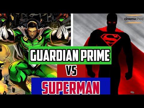 Can Guardian Prime Defeat Superman?