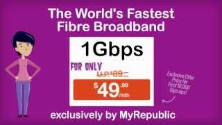 1Gbps Fibre Broadband Singapore Promotion