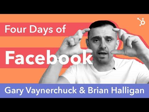 Gary Vaynerchuck and Brian Halligan - Four Days Of Facebook