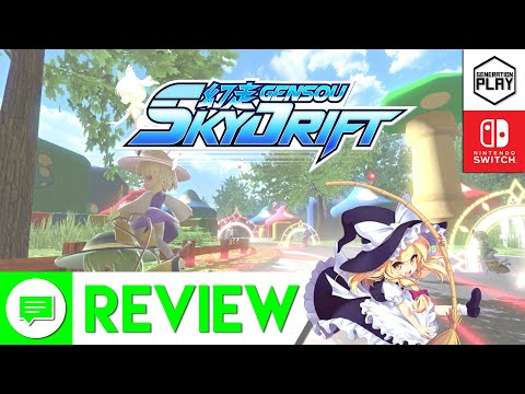 Flying high, or hardly flying? Touhou's GENSOU Skydrift Review Nintendo Switch