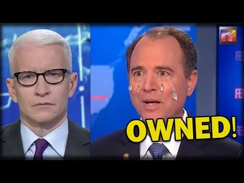 HAH-HAH! Adam Schiff Just Got OWNED on CNN right in front of Anderson Cooper Over FISA Memo Freakout