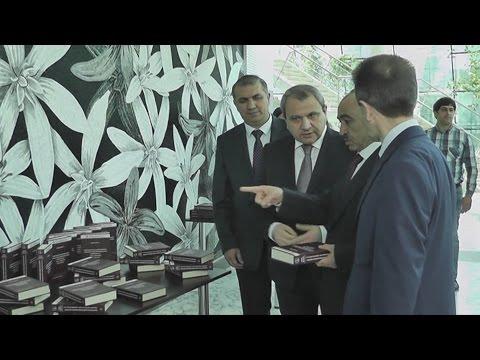 Ali Hasanov - Prezidentin kömekçisi - (Elmin İnkişafı Fondu yeni neşrlerini teqdim edib)