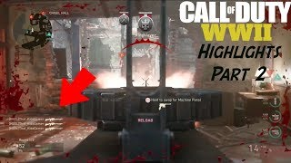 CALL OF DUTY: WWII BETA HIGHLIGHTS PART 2 | Sunday Video (#6)