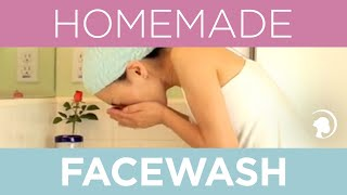 How to Make a Natural Homemade Facewash Thumbnail