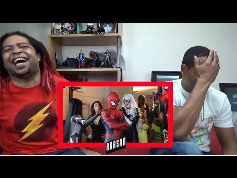 Spider-Man vs Deadpool - Rap Battle -REACTION