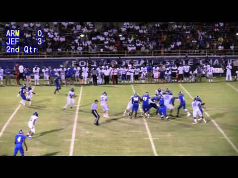 Jefferson Vs Armwood 2013 - GAME HIGHLIGHTS