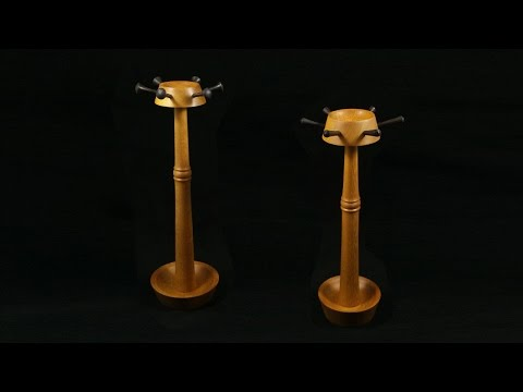 Woodturning with Tim Yoder-Necklace and Jewelry Holder