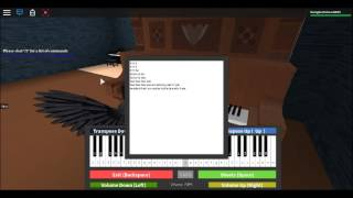 Roblox Piano Wedding March (Little)